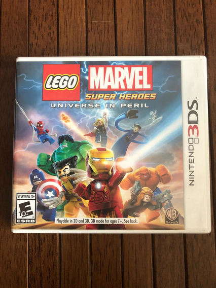 Marvel Super Heroes - Universe In Peril 3ds