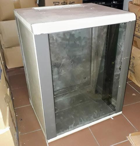 Rack Gabinete 12u Pivotante Puerta Vidrio Desarmable Liquido