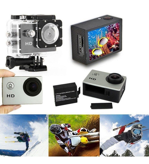 Câmera Sport Hd Sj4000 Hd 720p Prova Dagua -novo