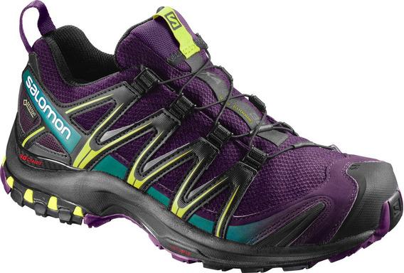Zapatillas Mujer Salomon - Xa Pro 3d Gtx - Trail Running
