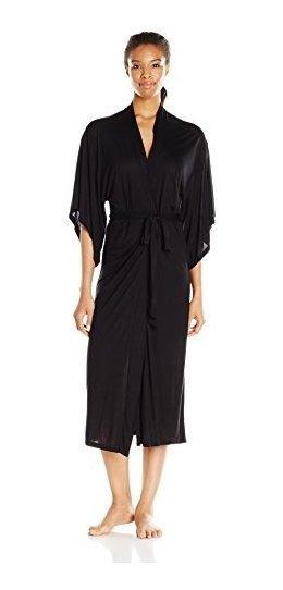Eberjey Colette De La Mujer Largo Kimono Bata