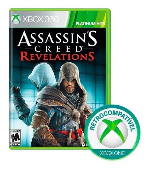 Assassins Creed Revelations Xbox 360 Fisica Lacrado Nfe