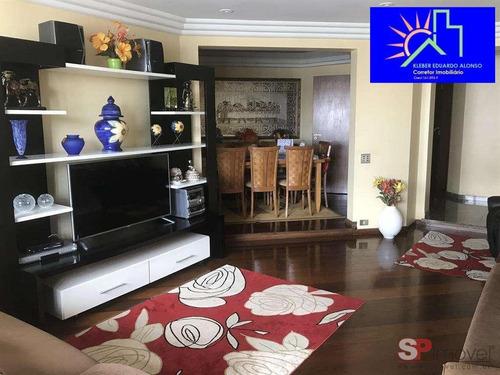 Imagem 1 de 15 de Lindo Apartamento Anália Franco  164 M² - 2343g
