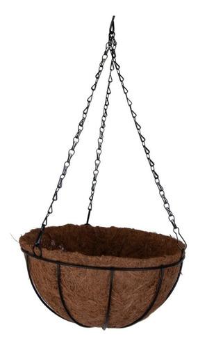 Maceta De Coco Para Colgar X2 Unidades Jardín Decoración