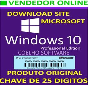 Windows 10 Pro Chave Licença Original Ativa Online