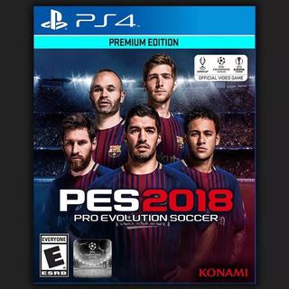 Playstation 4 - Juego Pes2018