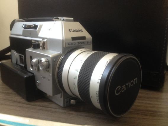 Câmera Super 8mm Canon 814 - Excelente Estado