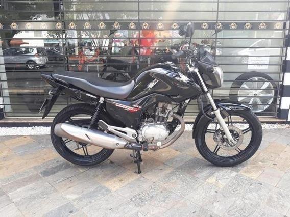 Honda Fan 150 2014 Preta