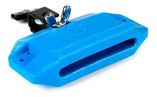 Cencerro Plastico Azul Lp Jam Block High Pitch Lp1205