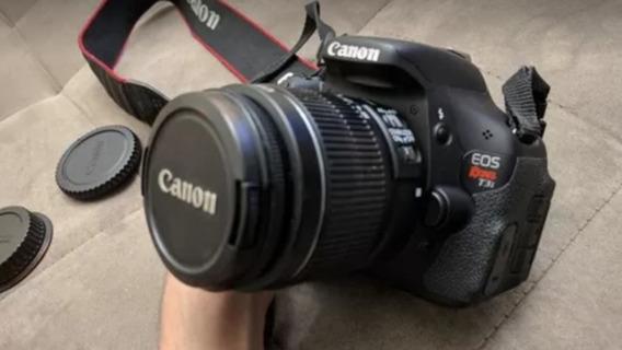 Canon T3i / 600d Com Lente 18-55mm 3.5-5.6 Is