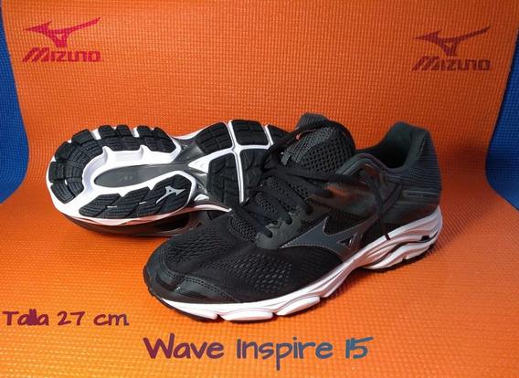 Tenis Mizuno Wave Inspire 15 Talla 24.5 Cm Oferta