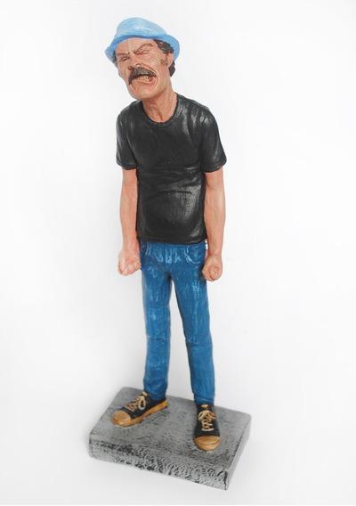 Sr. Madruga Bravo - Turma Do Chaves - Estatueta Em Resina
