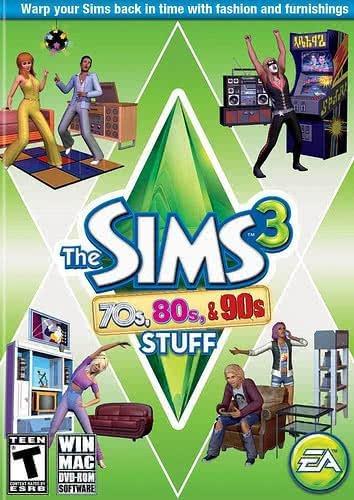 The Sims 3 Coleção De Objetos Anos 70, 80 E 90 Pc Fisica