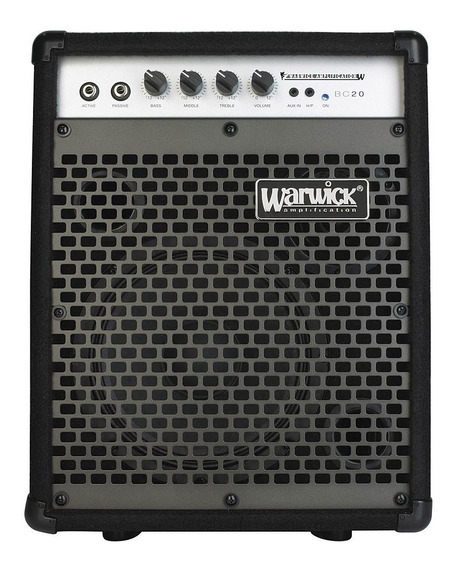 Amplificador De Bajo Warwick Bc-20 Envío Gratis