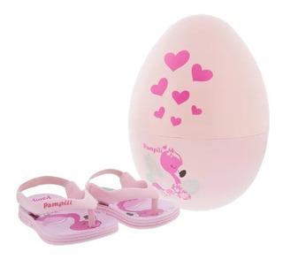 Chinelo Pampili Infantil Flamingo 474.007