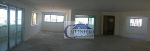 Imagem 1 de 18 de Apartamento Com 5 Dormitórios, Sendo 3 Suítes, À Venda, 408 M² Por R$ 2.500.000 - Jardim - Santo André/sp - Ap4041