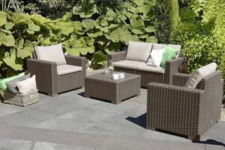 Sala Lujo Tipo Rattan 4pzas Lounge, Terraza, Jardín, Alberca