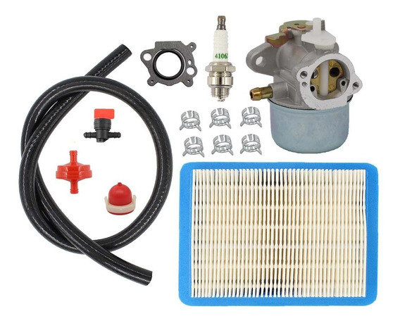Carburetor Air Filter Spark Plug Fuel For Briggs & Stratton