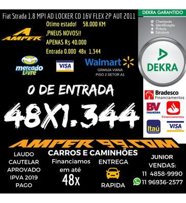 Fiat Strada 1.8 Mpi Adventure Locker Cd 16v Flex 2p Automati