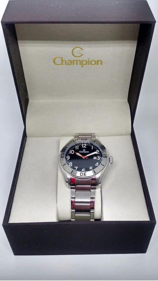 Relógio Champion Prateado Masculino Ca31284t