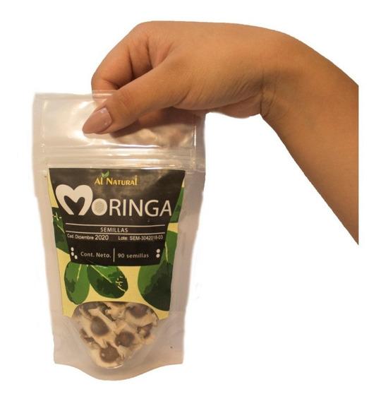 90 Semillas De Moringa Oleifera Orgánica Seleccionada