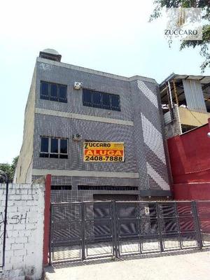 Prédio Comercial Para Locação, Jardim Vila Galvão, Guarulhos. - Pr0240