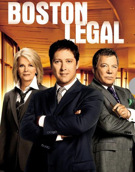 Boston Legal - As 5 Temporadas Completas
