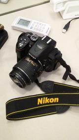 Camera Nikon D5300 Lente 1855 Vrii, , Semi Nova