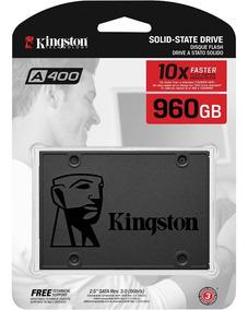 Ssd Kingston A400 2.5 960gb Sata I I I 450mb Sa400s37/960gb