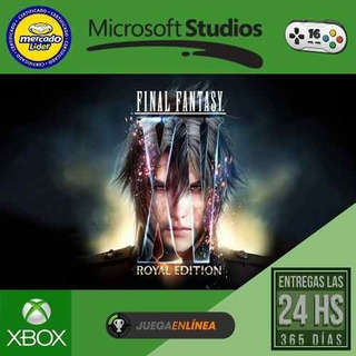 Final Fantasy Xv Royal - Xbox One - Modo Local