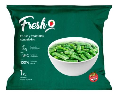 Chaucha Congelada Iqf Fresh X 1kg