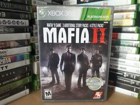 Jogo Mafia 2 Xbox 360 Original +3 História+4 Pack Adicionais