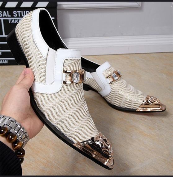 Sapatos De Casamento Glitters Mens