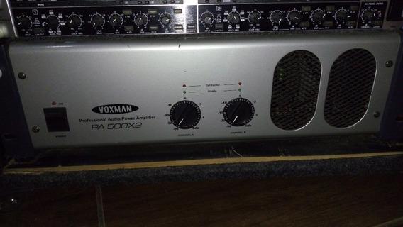 Amplificador De Potência Voxman Pa500