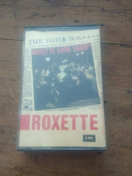 Roxette Look Sharp! Cassette Original 1989Usado