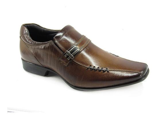 Sapato Social Masculino Las Vegas Rafarillo 79287 Conhaque