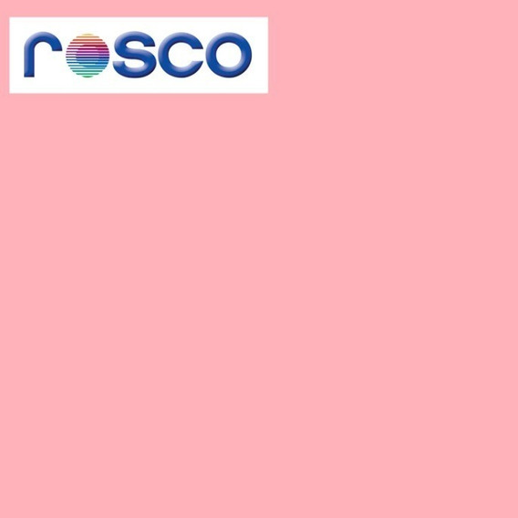 Filtro Gelatina E-colour Rosco #154 Pale Rose