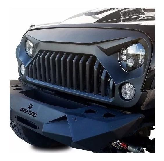 Parrilla Jeep Wrangler Jk Enojado 2007-2018