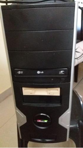 Computador Seminovo  - Cpu + Monitor + Teclado E Mouse