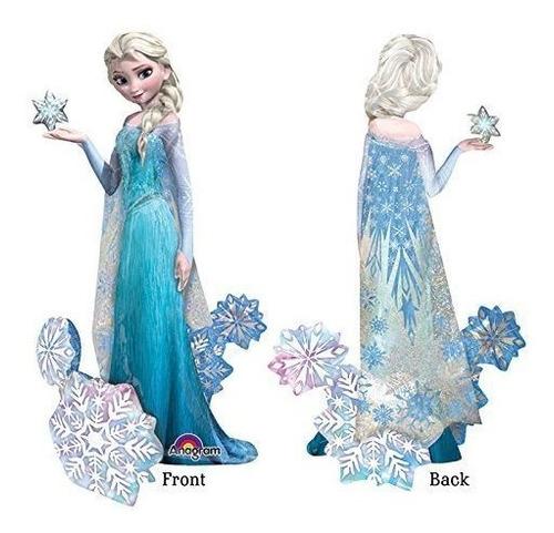 Imagen 1 de 1 de Decoracion De Globos De Cumpleaños De Elsa La Reina De Las