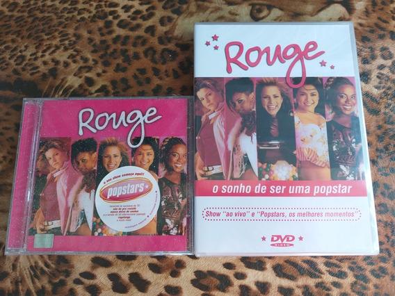 Cd × Dvd Rouge - Zerado