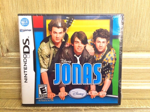 Disney Jonas Brothers Videojuego Nuevo Nintendo Ds