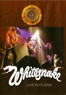 Whitesnake Live In Russia - Dvd Original