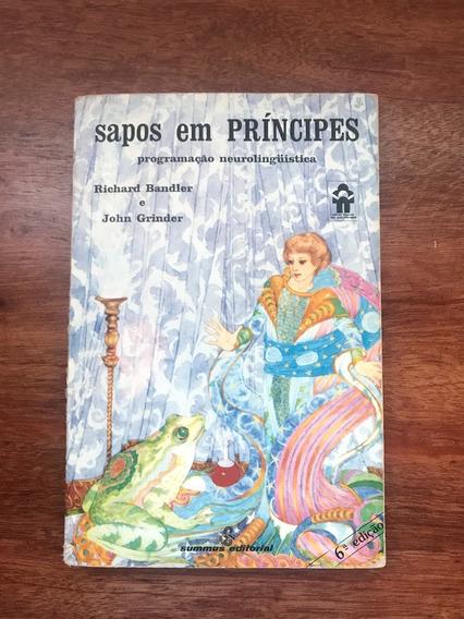 Livro Sapos Em Príncipes: Programação Neurolinguística