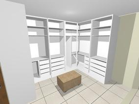 Projeto Closet/armário 3d - Envio 3 Dias Úteis