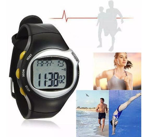 Relógio Frequencímetro Mede Batimentos Cardíacos E Calorias