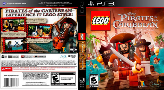 Lego Piratas Do Caribe Xbox 360