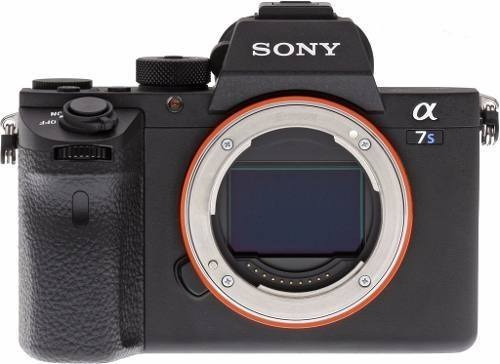 Camera Mirrorless Sony A7s Ii 2 4k Nota Fiscal Nf-e
