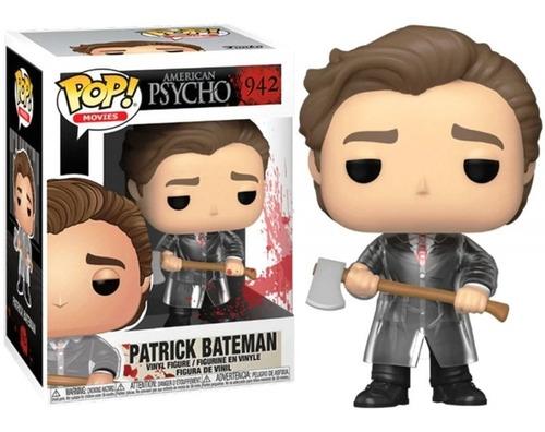 Boneco Funko Pop Movies Patrick Bateman 942 American Psycho