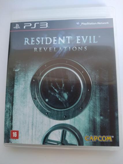 Resident Evil Revelations Ps3 Original Mídia Física